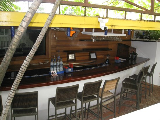 Outdoor Bar Picture Of At Wind Chimes Boutique Hotel
