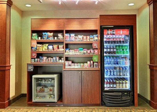 Snack Area Picture Of Comfort Suites Grand Rapids North