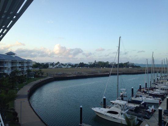 Mantra Boathouse Apartments: View from room balcony