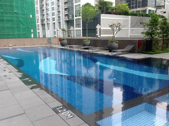 Outdoor Pool Picture Of Carlton City Hotel Singapore Singapore Tripadvisor