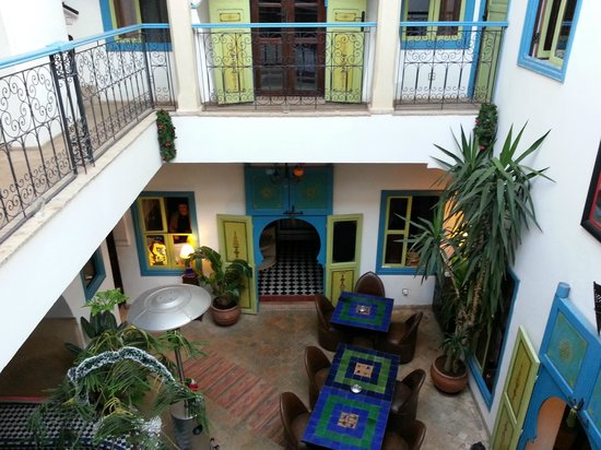 Small and intimate, Riad Les Lauriers Blancs