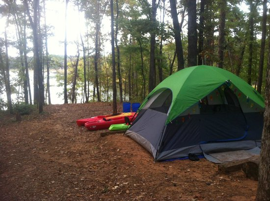 Red Oak Loop Tent Camping Picture Of Tyler State Park