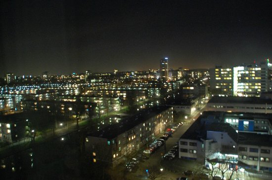 Novotel Amsterdam City: View from our room (12th floor)