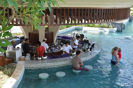 Pool Bar Picture Of Sofitel Bali Nusa Dua Beach Resort