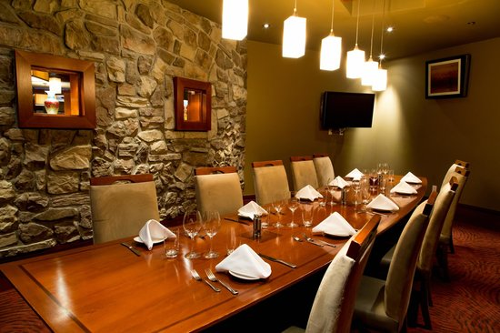 The private dining room for Best private dining rooms calgary
