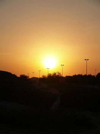 Emirate of Ras Al Khaimah, United Arab Emirates: Sunset