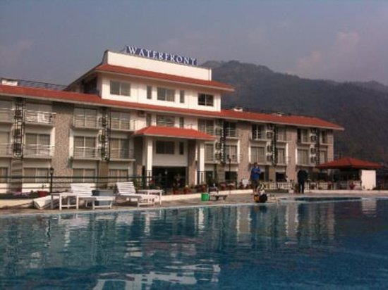 Hotel And Pool Area Picture Of Waterfront Resort Hotel Pokhara Tripadvisor