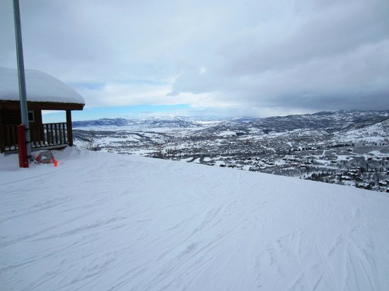 View from the top of the vogue run i think picture of for Steamboat lake cabins