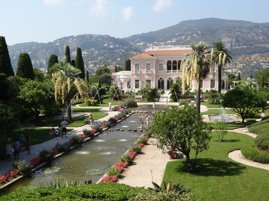 Magnificent picture of villa jardins ephrussi de for Jardin villa rothschild