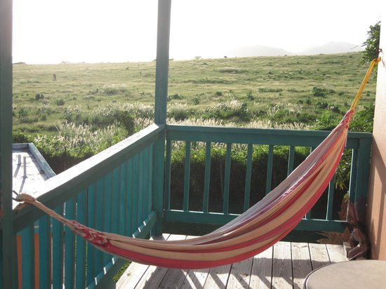 Hammock on balcony of casita 1 picture of hector 39 s by for Balcony hammock