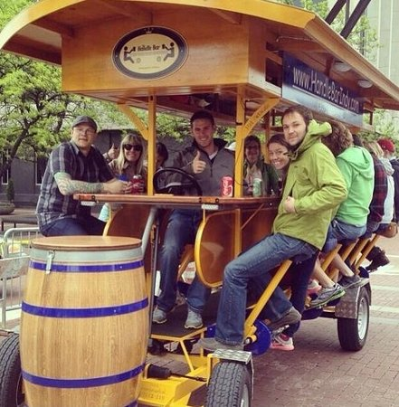 The HandleBar - 16-Person Pedal Bar Tour