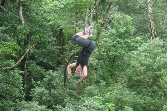Florblanca Resort: Ziplines were a highlight