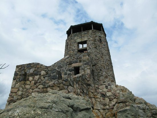 Custer (SD) United States  city photo : Custer, SD: Fire Tower at Harney Peak