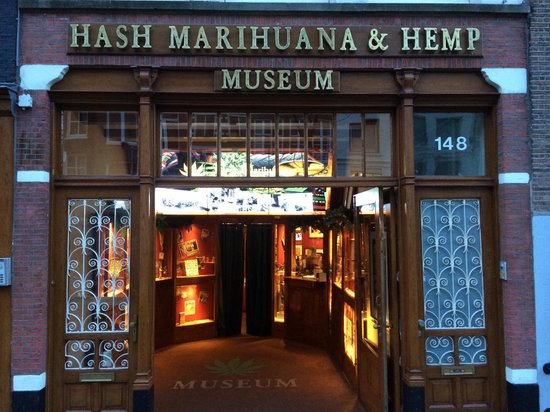 Entree Picture Of Hash Marihuana Hemp Museum Amsterdam