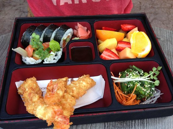 Traditional Bento Box - Picture of CRAVE Restaurant ...