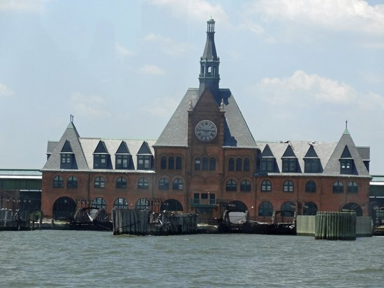 Ellis island from harbor cruise boat picture of new york city new york tripadvisor