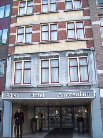 The hotel view from the street picture of hampshire for Eden hotel amsterdam