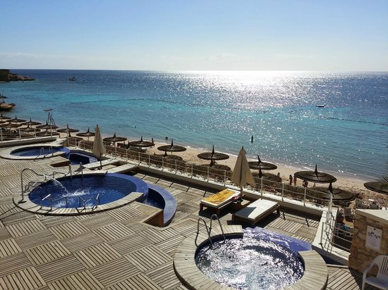 View from above picture of reef oasis beach resort for Aparthotel bressanone