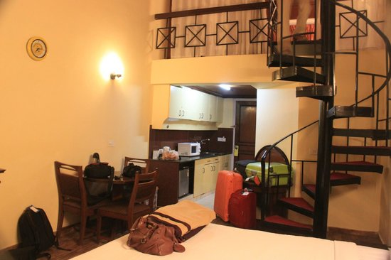 A view of the kitchenette picture of manali white mist a sterling holidays resort manali - Bank kitchenette ...