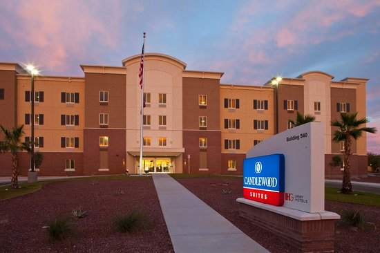 candlewood suites on yuma proving ground az specialty