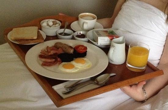 Breakfast in bed! - Picture of Drakes Hotel Brighton ...