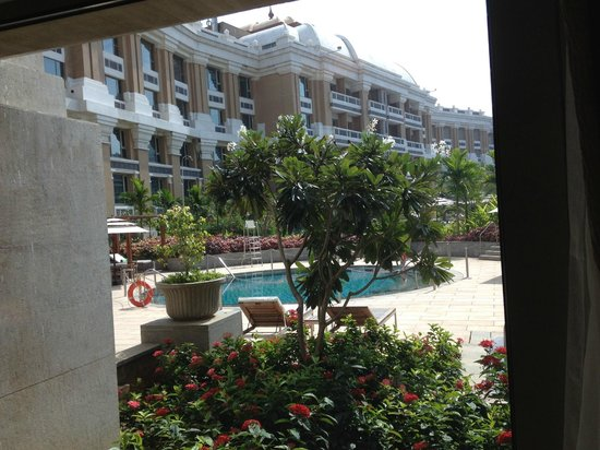 Private Pool Area For Towers Rooms Only Picture Of Itc Grand Chola Chennai Chennai Madras