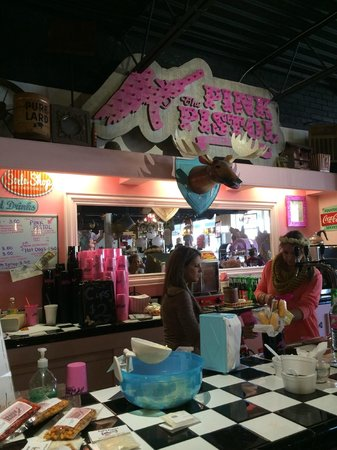 The Pink Pistol Tishomingo Ok Hours Address Top