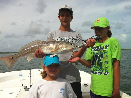 Great family times on fly girl picture of fly girl for Fly girl fishing charters