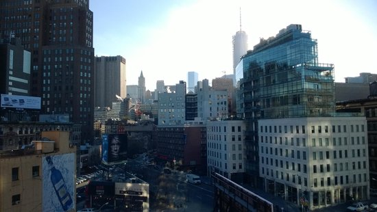 Soho Grand Hotel: View from my room