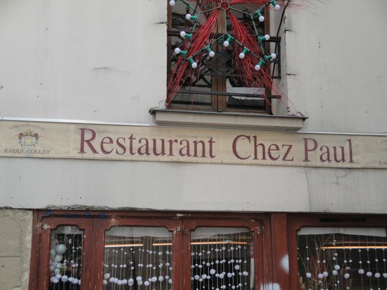 Wine picture of chez paul paris tripadvisor for Restaurant miroir paris 18