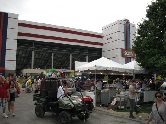Tms Crowd On The Midway Picture Of Texas Motor Speedway