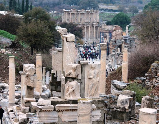 Curetes Street - Picture of Ancient City of Ephesus ...