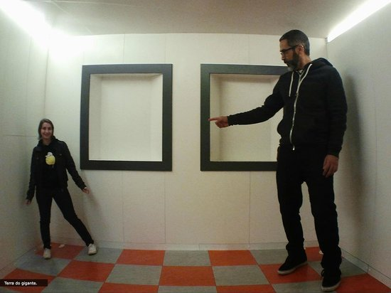 Adelbert Ames Room of Illusions Ames Room
