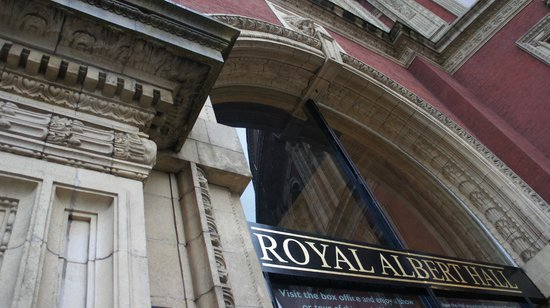 Royal albert hall entrance picture of royal albert hall for Door 6 royal albert hall