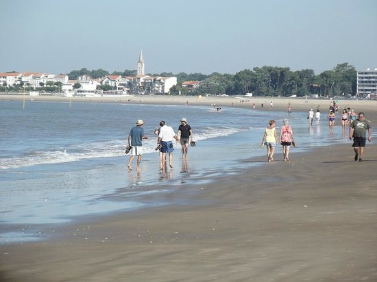 Lovely clean beach  Picture of Parc Hotel Bois Soleil  ~ Bois Soleil Saint Georges De Didonne