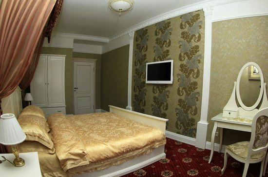 Minsk Belarus King Size Bed With A Set Of Very Nice Clothes