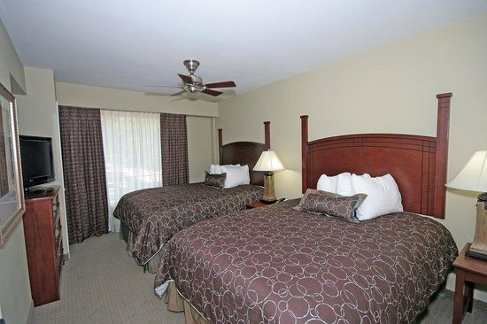 One Bedroom Suite With Two Queen Beds At Staybridge Columbia Sc Picture Of Staybridge Suites
