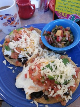... black bean and mango tostadas recipe dishmaps black bean and mango