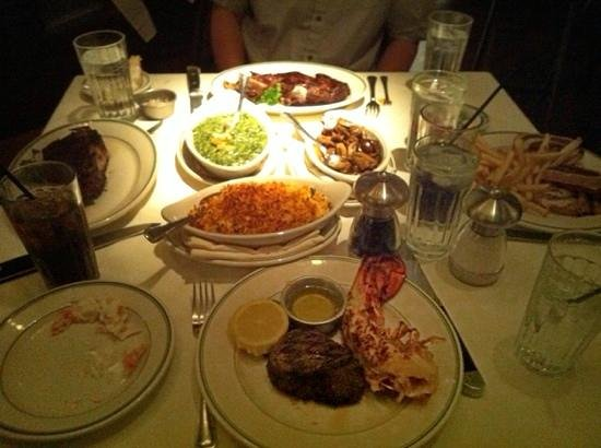 ... Crab steak & lobster - Picture of Joe's Seafood, Prime Steak and ...