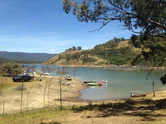 Lake Eildon View From Cottage Picture Of Willowlake Cottages Mansfield Tripadvisor