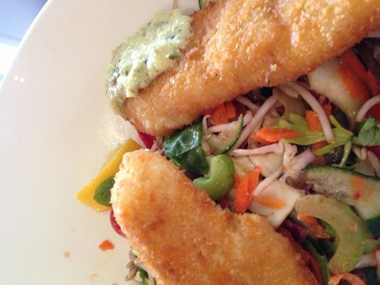 Crumbed whiting fillets that look suspiciously like fish for Whiting fish fillet