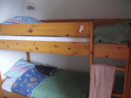 vue chambre lit tage picture of aussois savoie tripadvisor. Black Bedroom Furniture Sets. Home Design Ideas