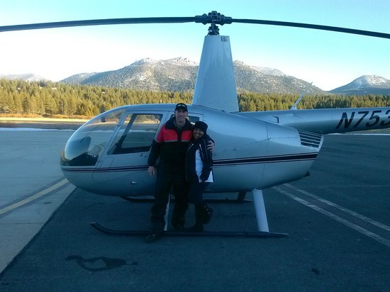 After The Ride  Picture Of RenoTahoe Helicopters South Lake Tahoe  TripAd