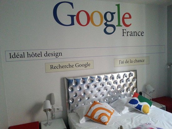 La camera google dell 39 ideal hotel design picture of for Ideal design hotel