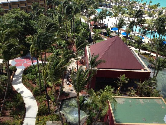 Radisson Aruba Resort, Casino & Spa: view from our balcony