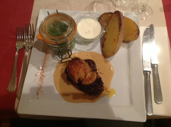 Filet rossini picture of la table du boucher saint - La table du boucher villeneuve d ascq ...