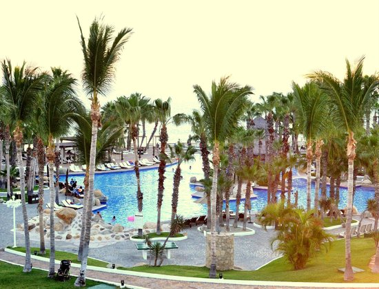 Melia Cabo Real All-Inclusive Beach & Golf Resort: View of our ocean-view room