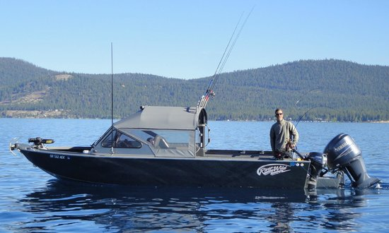 Lake tahoe 39 s emerald bay picture of swa watersports for South lake tahoe fishing charters