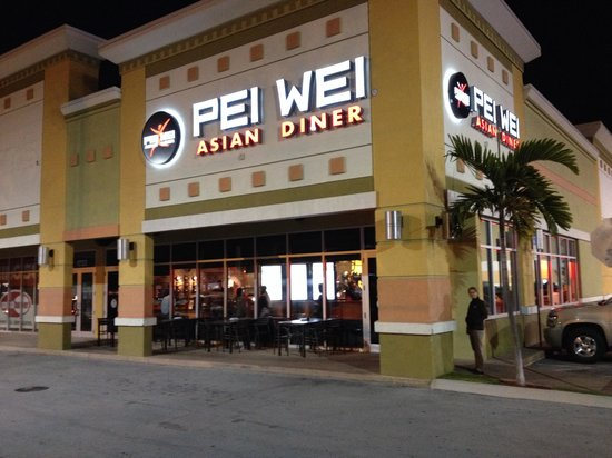 Pei wei asian diner location