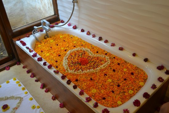 Siddapura, India: Special arrangement done by the housekeeping